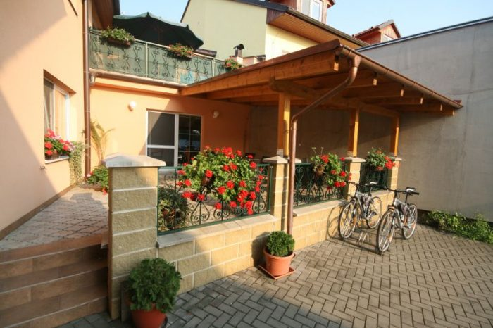 Pension - pristresek